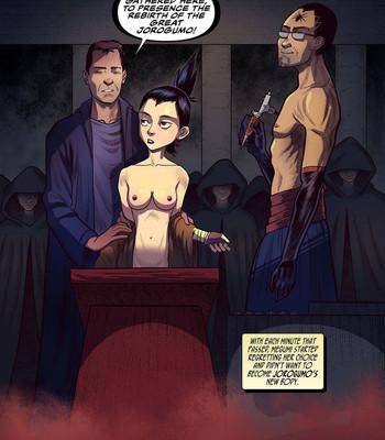 100 Ways To Become A Monster 18 - Jorogumo comic porn sex 003