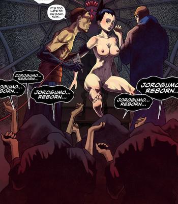 100 Ways To Become A Monster 18 - Jorogumo comic porn sex 005