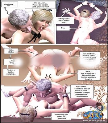 3D-Seiren – Double Surprise free Porn Comic sex 17