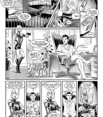 Porn Comics - 5 Hours With Wanda