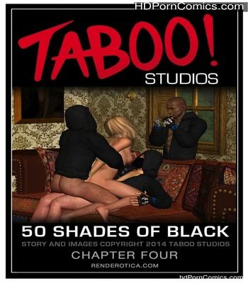 Porn Comics - 50 Shades Of Black 4 Sex Comic