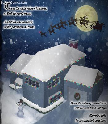 A White XXXmas2 free sex comic