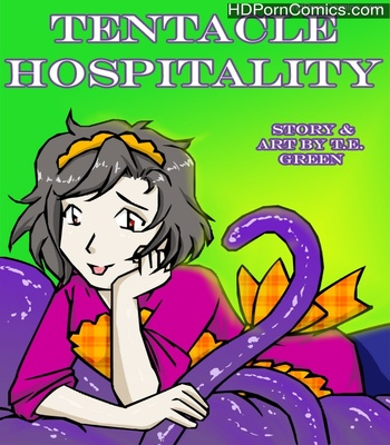 Porn Comics - A Date With A Tentacle Monster 3 – Tentacle Hospitality Sex Comic