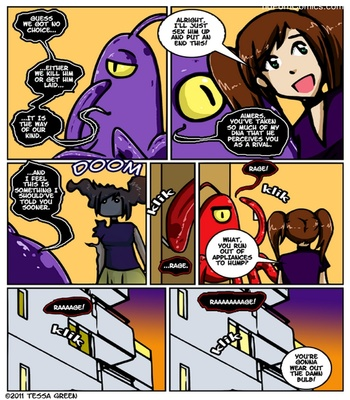 A Date With A Tentacle Monster 4 - Tentacle Multiplicity 14 free sex comic