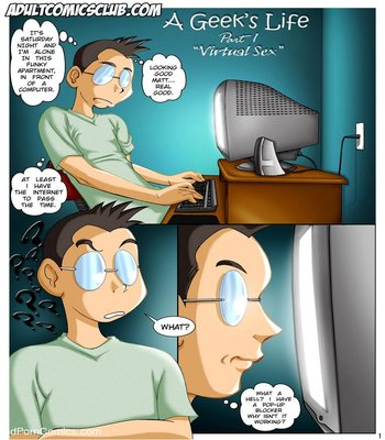 A Geek's Life 1 2 free sex comic
