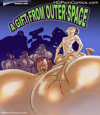 Porn Comics - A Gift From Outer Space Sex Comic