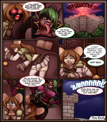 A Knight With The Sorceress Apprentice Sex Comic