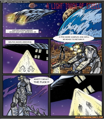 A Light Touch Of Steel 2 free sex comic