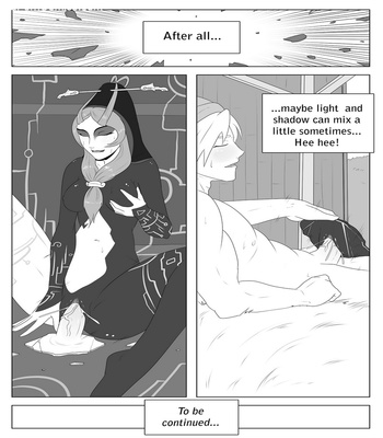A Link Between Girls 2 – Queen Midna Sex Comic