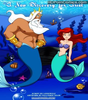 Porn Comics - A New Discovery For Ariel Sex Comic