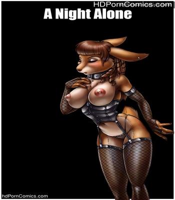 Porn Comics - A Night Alone Sex Comic