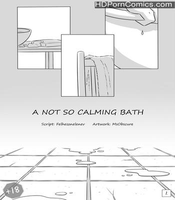 Porn Comics - A Not So Calming Bath Sex Comic