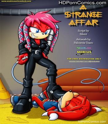 Porn Comics - A Strange Affair 1 Sex Comic