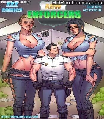 Porn Comics - AGW – Enforcers Sex Comic