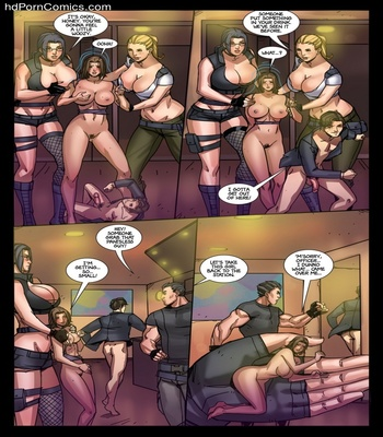 AGW – Enforcers Sex Comic sex 12