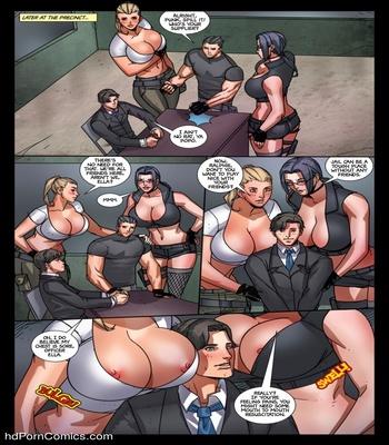 AGW – Enforcers Sex Comic sex 22