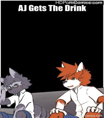Porn Comics - AJ Gets The Drink Sex Comic
