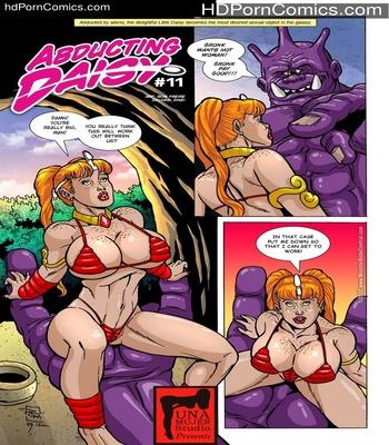 Porn Comics - Abducting Daisy 11 Sex Comic