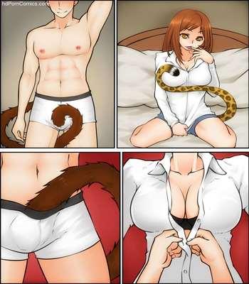 Adult Comic-Magnifire- Tails free Porn Comic sex 16
