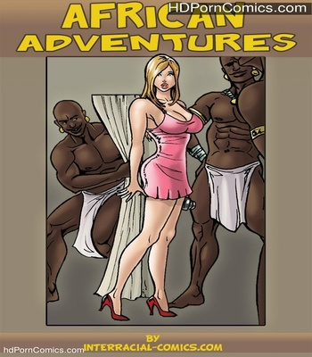 African Adventures comic porn thumbnail 1