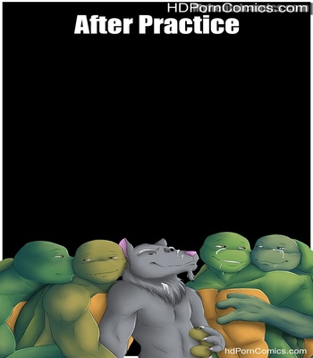 Porn Comics - After Practice