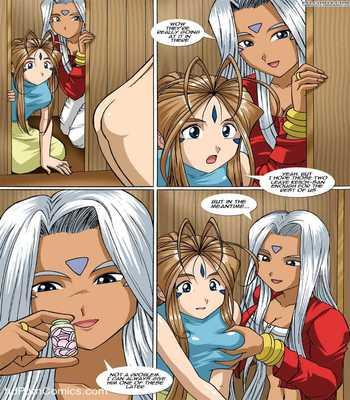 Ah My Goddess - The Goddess and the Princess 210 free sex comic