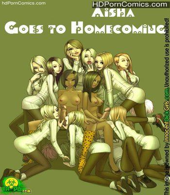 Porn Comics - Aisha Goes To Homecoming Sex Comic