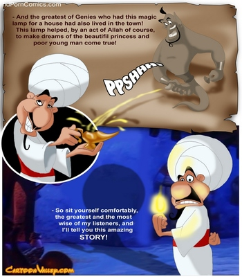 Aladdin - The Fucker From Agrabah 3 free sex comic