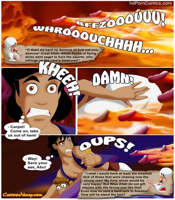 Aladdin - The Fucker From Agrabah 36 free sex comic