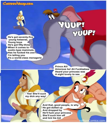 Aladdin - The Fucker From Agrabah 50 free sex comic
