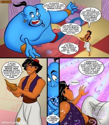 Aladdin 2 free sex comic