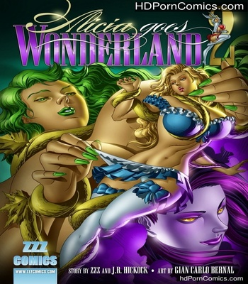 Porn Comics - Alicia Goes Wonderland 2 Sex Comic