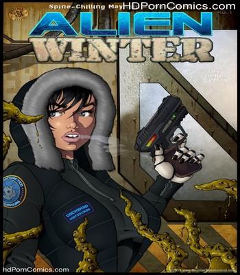Porn Comics - Alien Winter Sex Comic