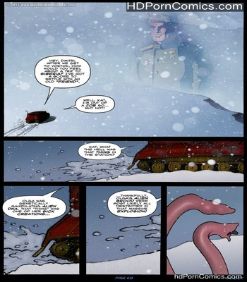 Alien Winter Sex Comic