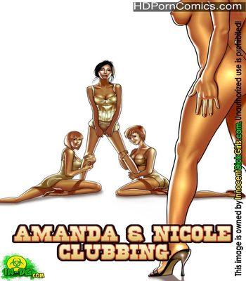 Porn Comics - Amanda & Nicole Clubbing Sex Comic