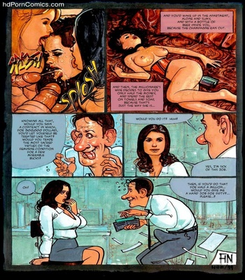 An Indecent Proposal Sex Comic