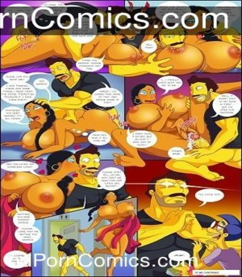 Arabatos – Darren's Adventure Simpsons free Cartoon Porn Comic