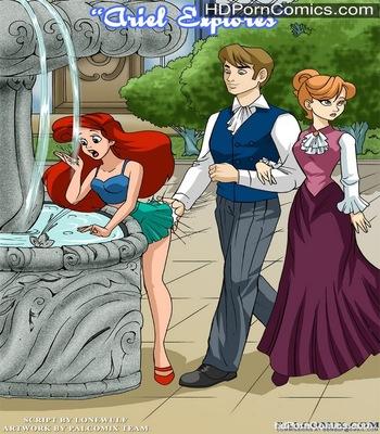 Porn Comics - Ariel Explores Sex Comic