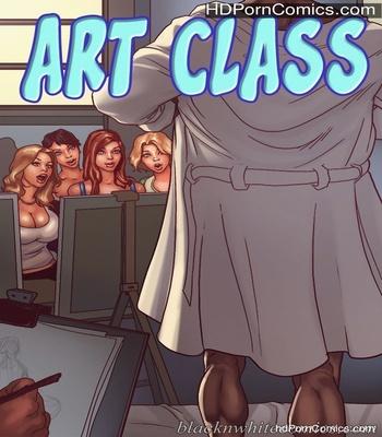 Porn Comics - Art Class Sex Comic