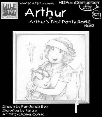 Porn Comics - Arthur's First Panty Raid Sex Comic