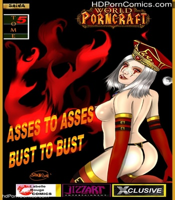 Porn Comics - Asses To Asses, Bust To Bust Sex Comic