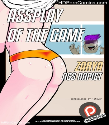 Porn Comics - Assplay Of The Game – Zarya Ass Rapist Sex Comic