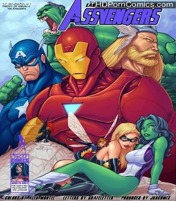 Porn Comics - Assvengers 1 Sex Comic