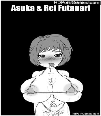 Porn Comics - Asuka & Rei Futanari Sex Comic