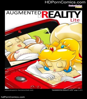 Porn Comics - Augmented Reality Sex Comic