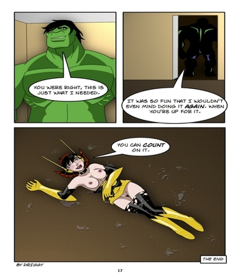 Avengers – Stress Release Sex Comic