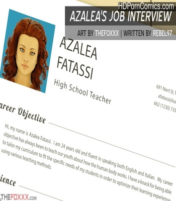 Porn Comics - Azalea's Job Interview Sex Comic