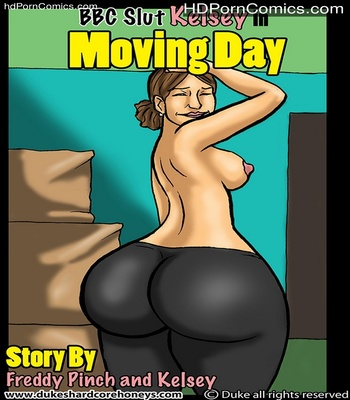 Porn Comics - BBC Slut Kelsey 1 – Moving Day Sex Comic