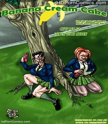 Porn Comics - Banana Cream Cake 12 – Lunch With Karen Sex Comic