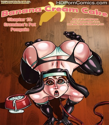 Porn Comics - Banana Cream Cake 15 – Grandma's Pet Penguin Sex Comic
